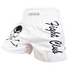 FIGHTERS - Muay Thai Shorts / Fight Club / Weiss / XL