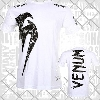 Venum - T-Shirt / Giant / Weiss / Small