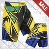 Venum - Fightshorts MMA Shorts / Wand's Conflict / Yellow-Blue-Green