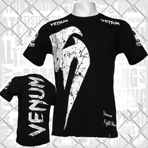 Venum - T-Shirt / Giant / Schwarz / Small